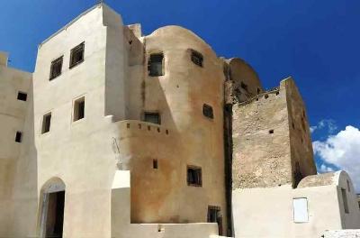 The Castle of Emporio, Santorini