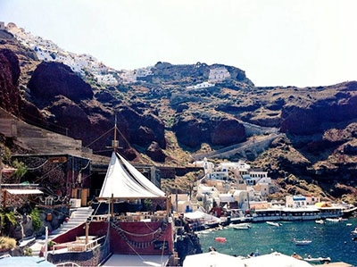 Ammoudi Bay, Santorini - Best place to be for seafood.