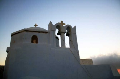 """Theotokaki"" Church in Pyrgos, Santorini.Photo from wondergreece"