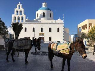 Church of Panagia in the main square of Oia, Santorini