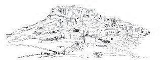 Pyrgos Village Santorini.  Design by N.Nomikos