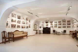"""""""Santorini of the Past"""" Museum in Pyrgos Village, Santorini."""