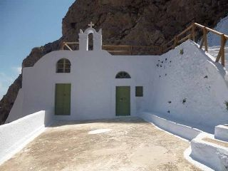 If you are seeking for refuge.. from anything that is bothering you, come to Aghios Georgios (K  atefyo) just outside Pyrgos Village. You will find peace here.