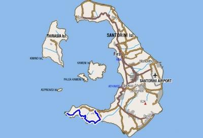 Santorini Hiking Trails Santorini Plus