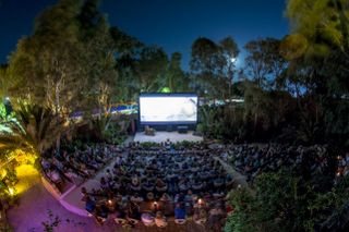 Photo credits: Open Air Cinema Santorini