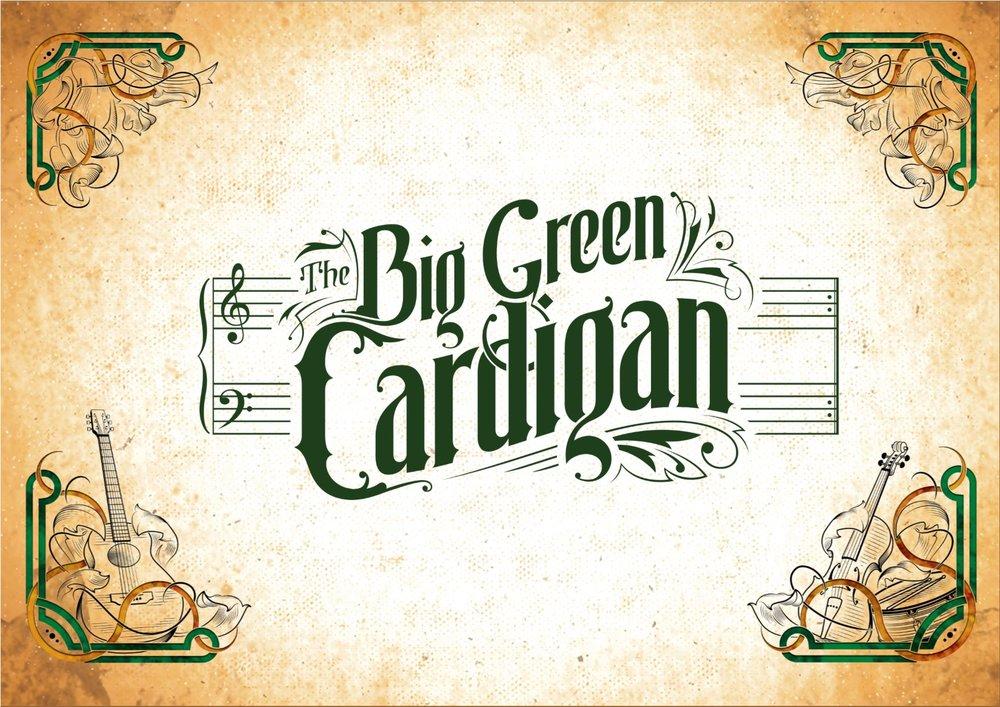 The Big Green Cardigan