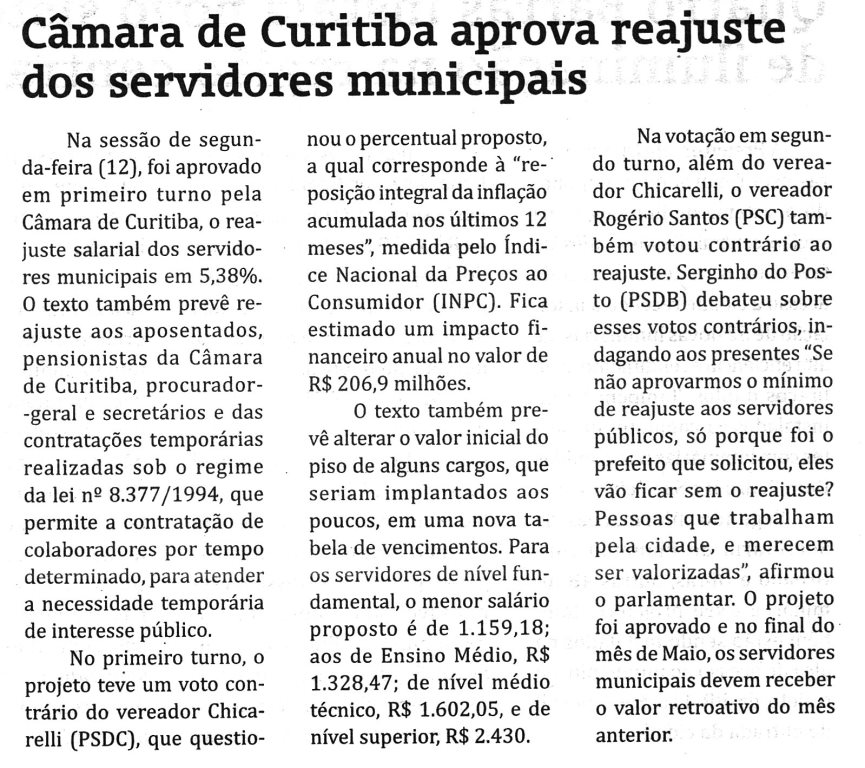 A Gazeta Regio Metropolitana  19 05