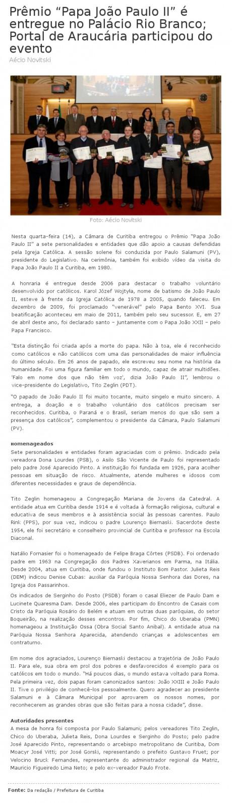PORTAL DE ARAUCARIA 15 05
