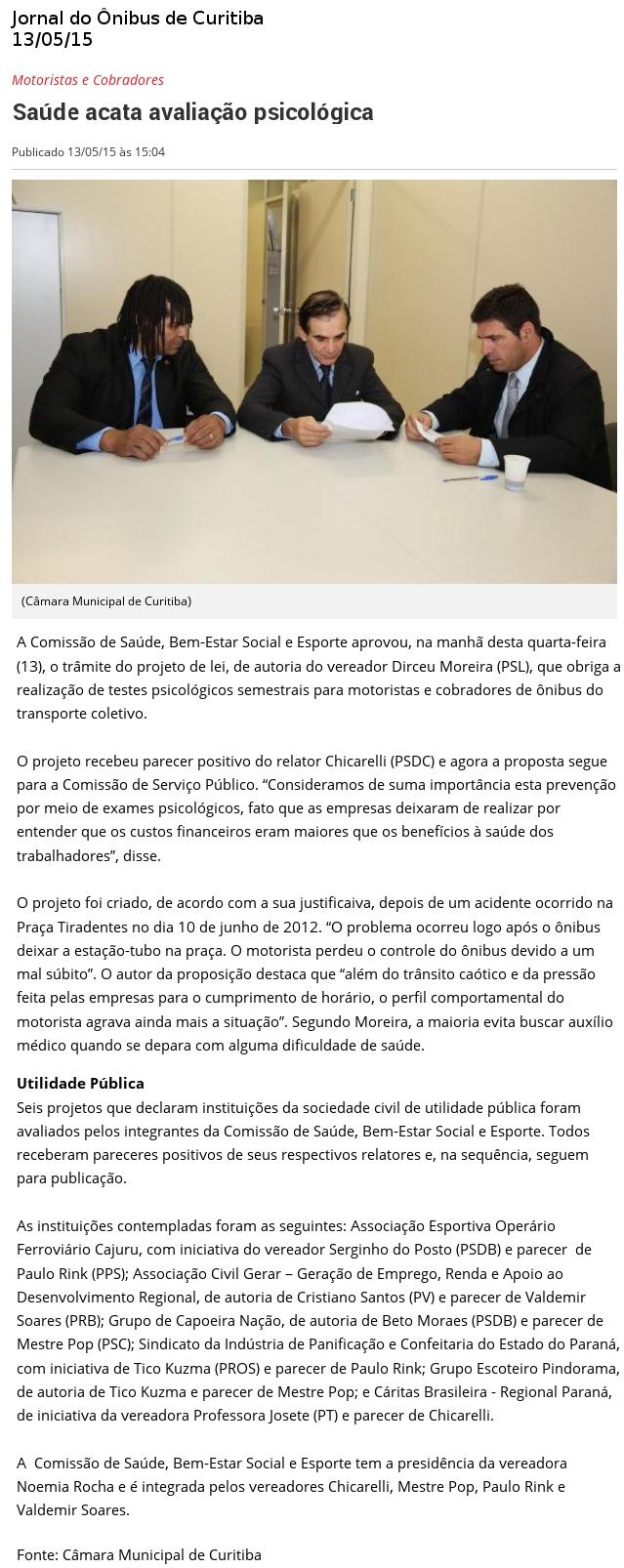 jornal do onibus de curitiba 1505