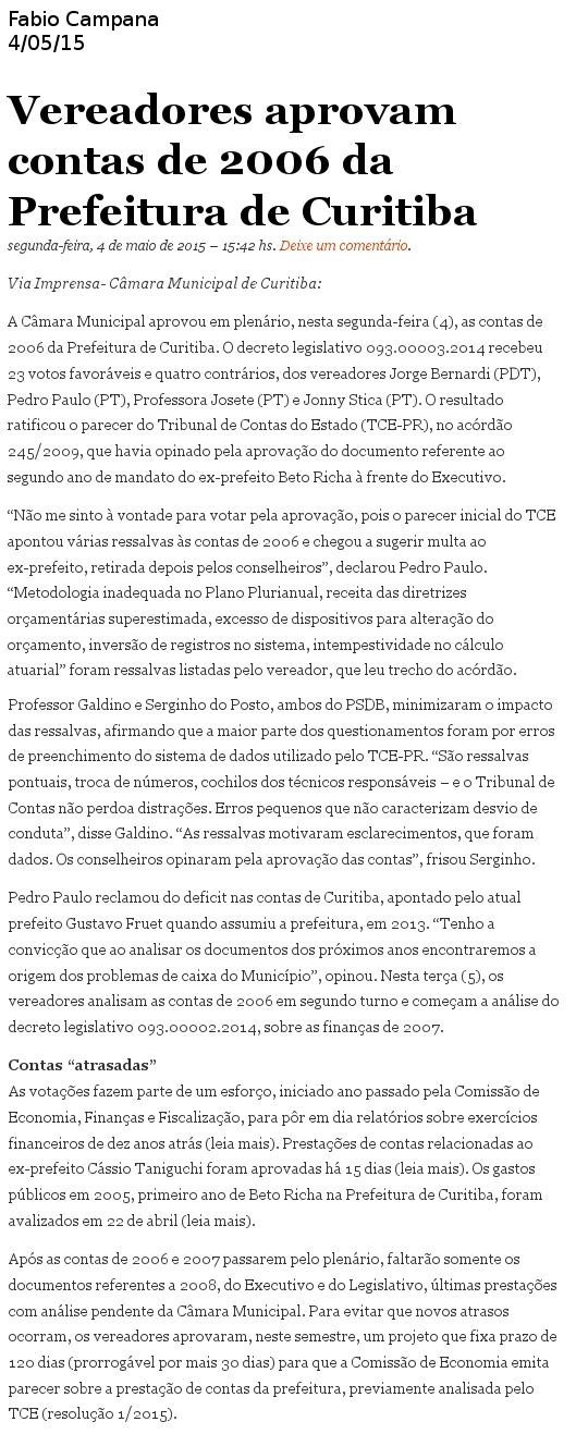 blog do fabio campana 0505