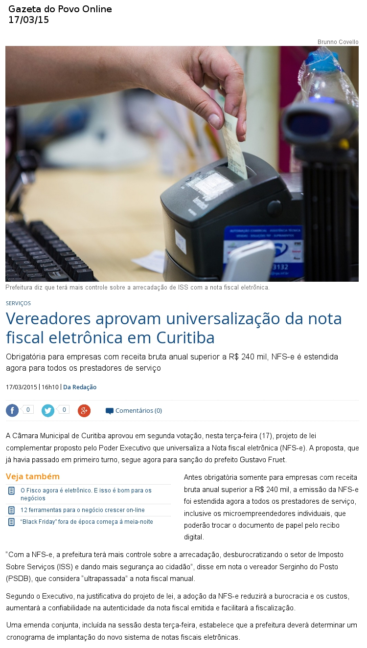 gazeta do povo online 1803