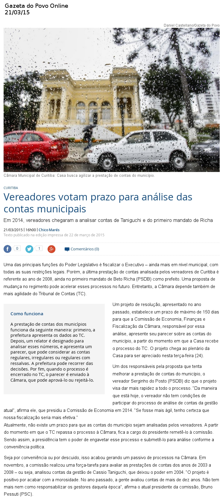 gazeta do povo online 2503