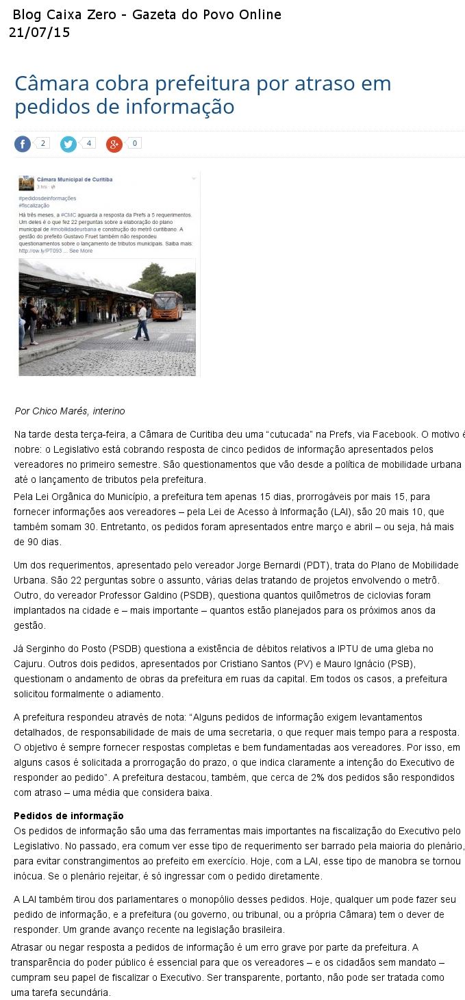 gazeta do povo online 0208