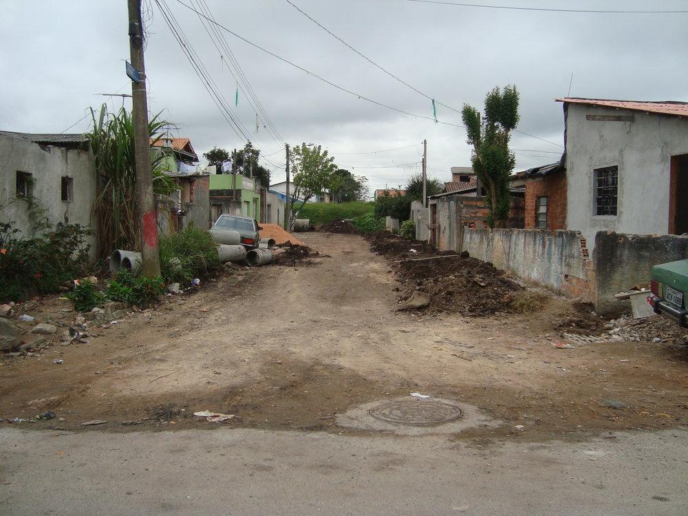 Rua Gov. Algacir Guimarães, São Domingos - ANTES