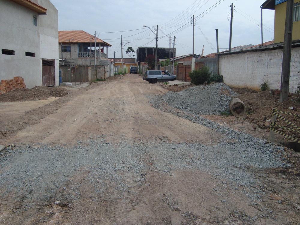 Rua Jorge Virgílio Cruzeta, São Domingos - ANTES