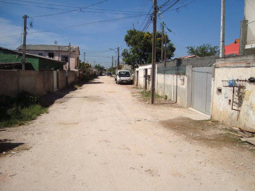 Rua Leodoro Ferreira de Castro - ANTES