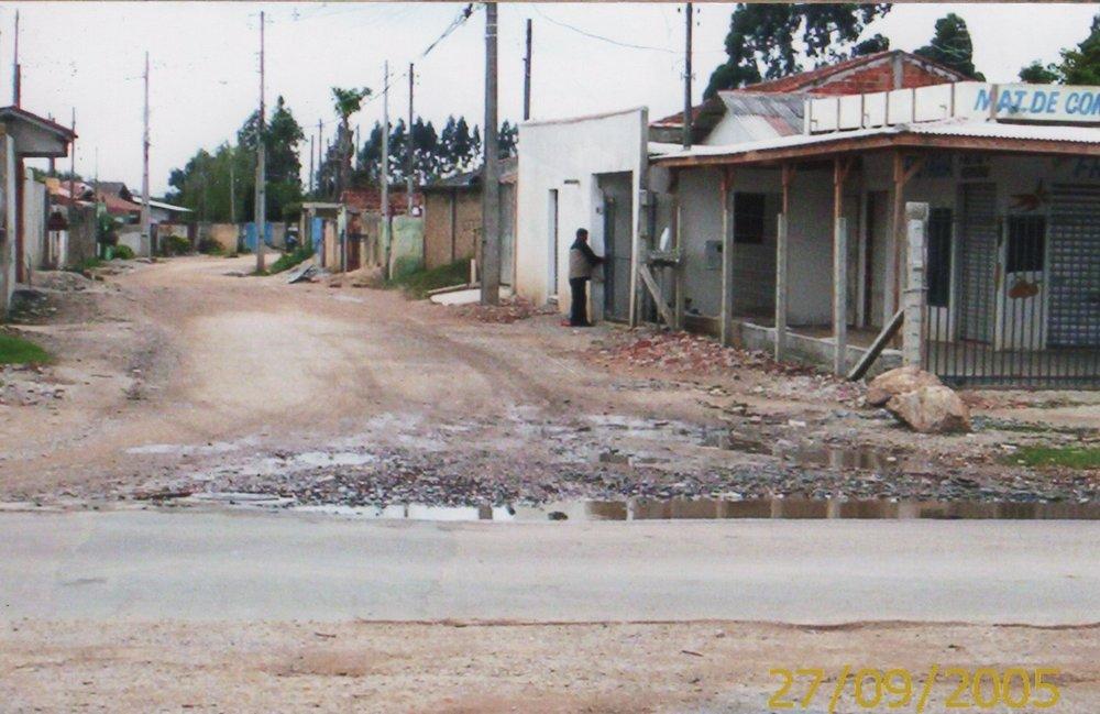 Rua Luiz Lara Fernandes da Penha, Acrópole II - ANTES