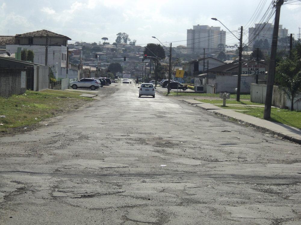 Rua Durval Pacheco de Carvalho - ANTES