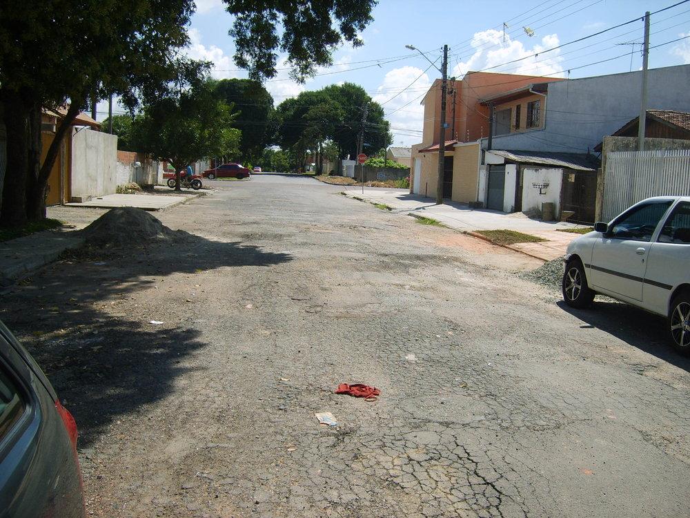Rua Francisco Vasco Garcia - ANTES