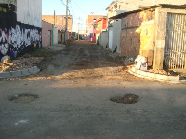 Rua Alcidez Ferreira Munhoz - ANTES