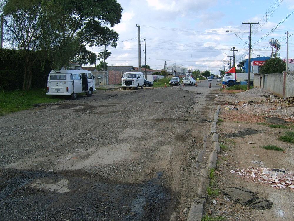 Rua Alfredo Barcik - ANTES