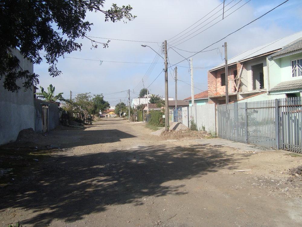 Rua Lauro Pastre - ANTES