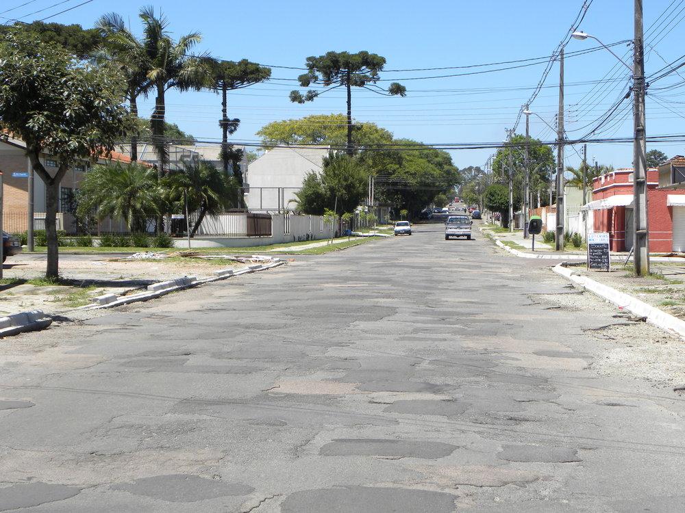 Rua Major Vicente de Castro - ANTES
