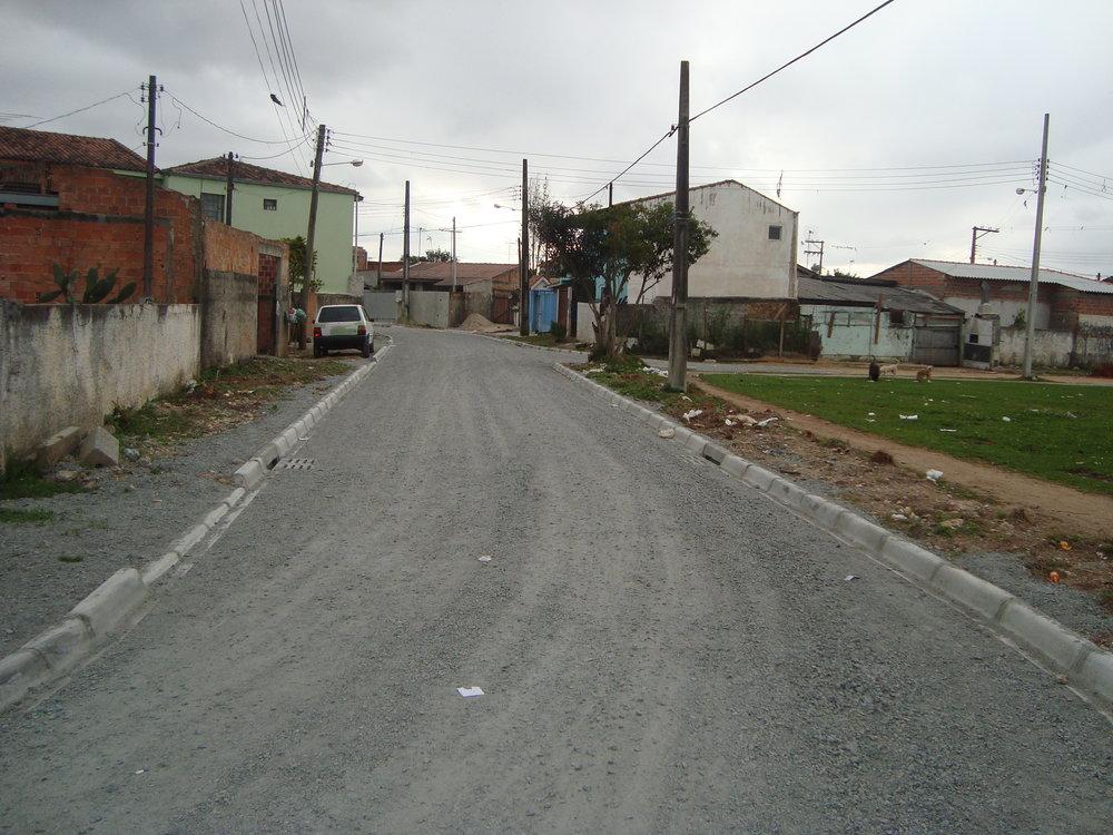 Rua Raynold Morbis, Acrópoles ll - ANTES
