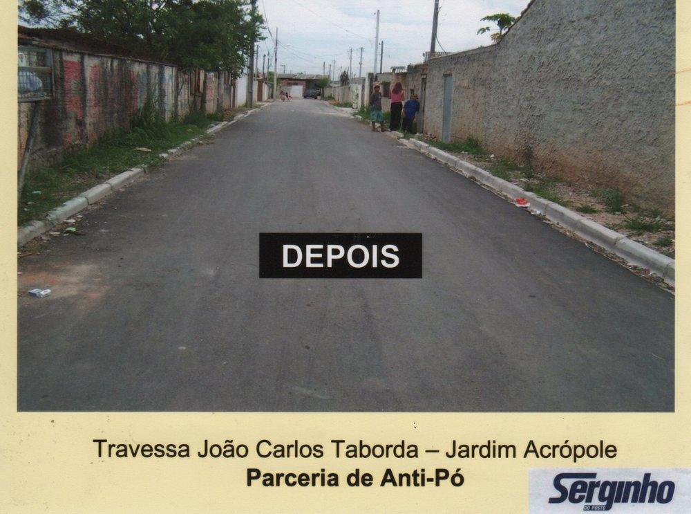 Pavimentação da Trav. João Carlos Taborda - DEPOIS