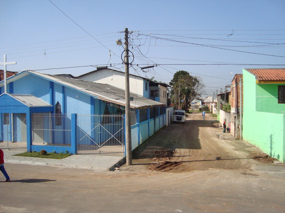Pavimentação na Rua David Affonso Kreilow - ANTES