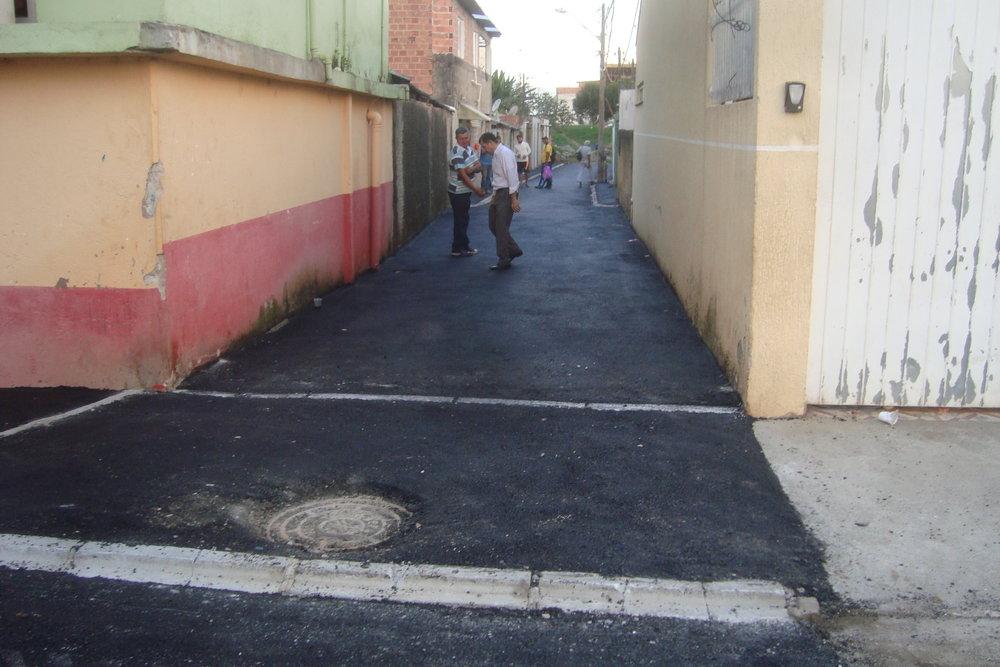 Pavimentação na Rua Gilson Antônio da Silva - DEPOIS