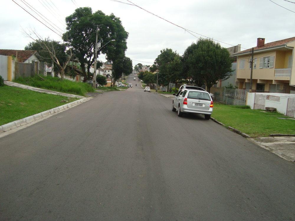 Recapagem asfáltica na Rua Miguel Caluf - 2012