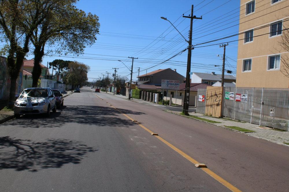 Recapeamento asfáltico na Rua Dep. Acyr José - 2010