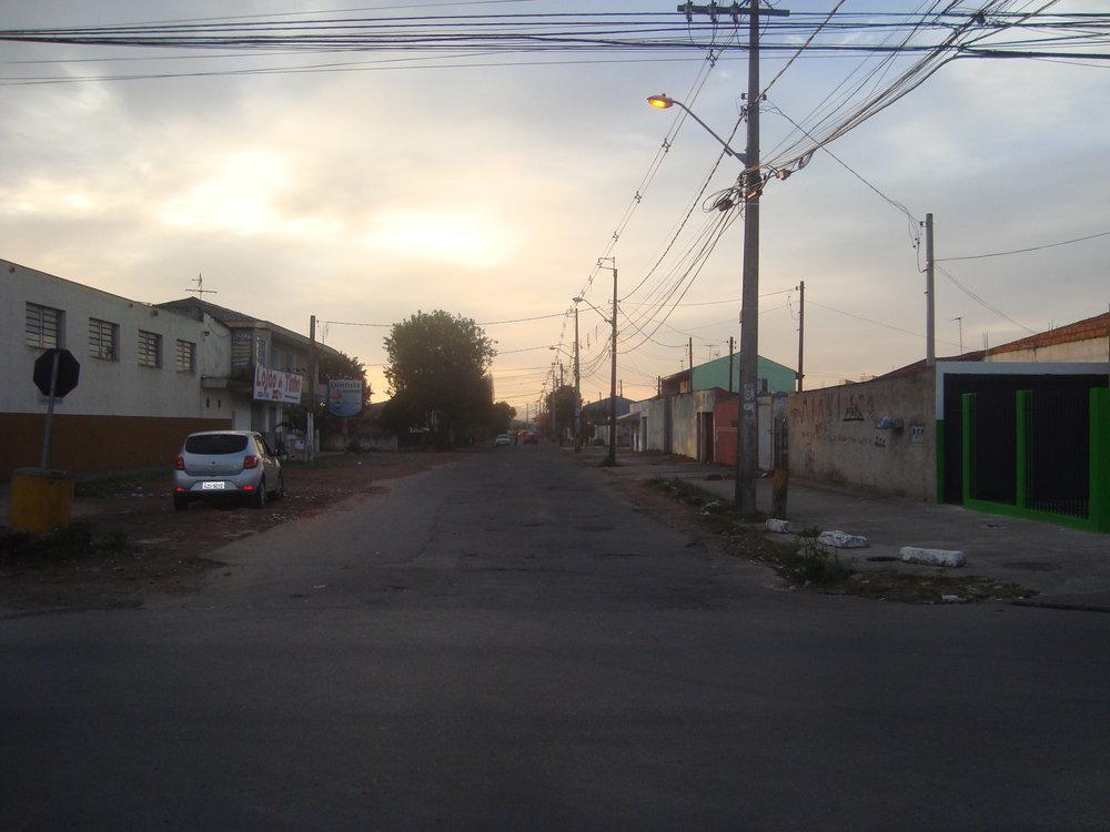 Revitalização da Rua Raynoldo Morbis - ANTES