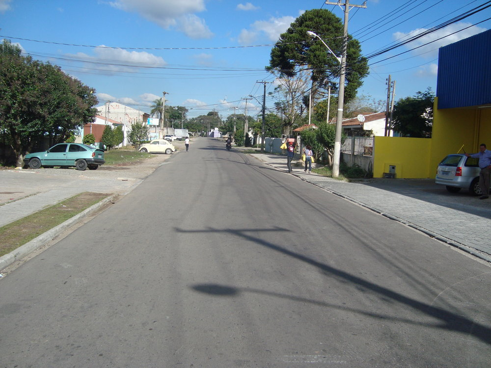 Rua Fortaleza entre a Rua Sebastião Marcos Luiz e a Rua Catulo da Paixão Cearense - 2012