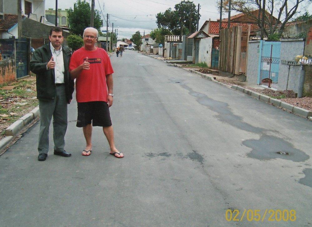 Pavimentação na Rua Amin Abil Russ - DEPOIS
