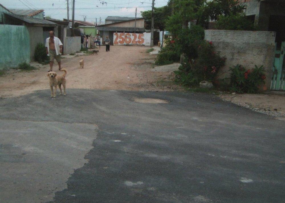 Pavimentação na Rua Dr. Heraldo de Oliveira Mello - ANTES