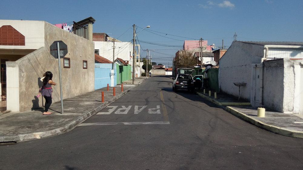 Pavimentação na Rua Maj. Antônio Ribeiro Vidal - DEPOIS