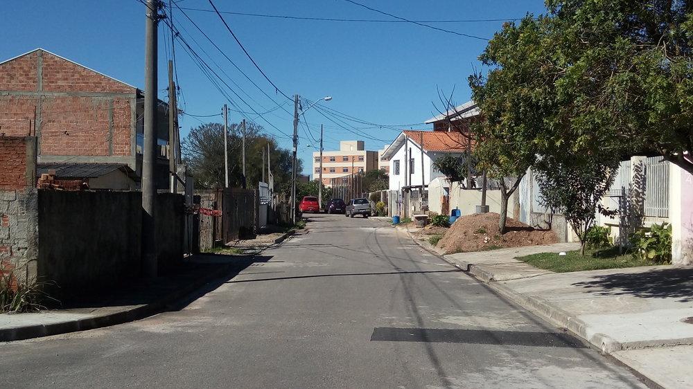Pavimentação na Rua Darci Jungles - DEPOIS