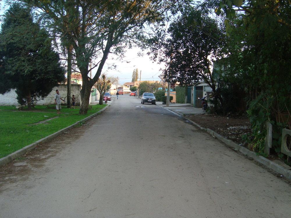Pavimentação na Rua Maria da Luz Vialle Medeiros - DEPOIS