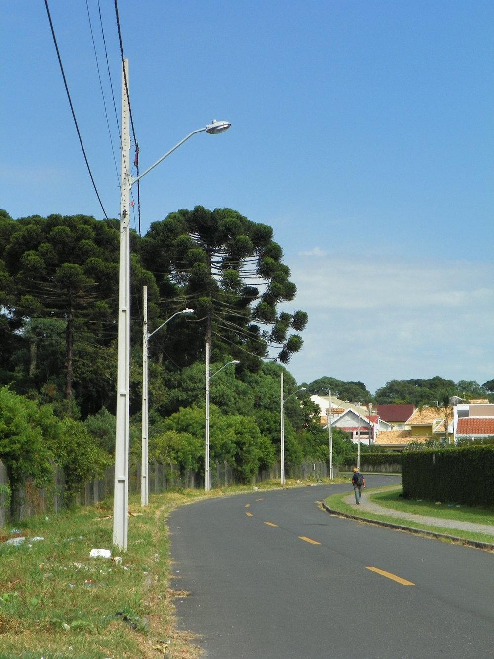 Iluminação na Rua Augusto David de Moraes