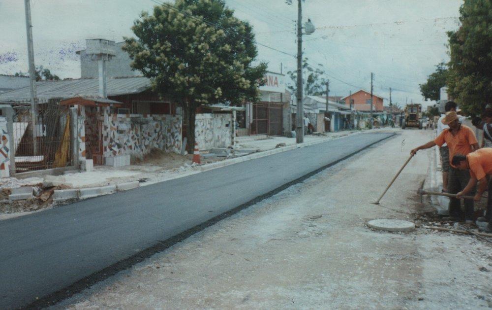 Rua Fernando Zibarth, entre a Rua Santa Lúcia e a linha férrea, V. Domingos