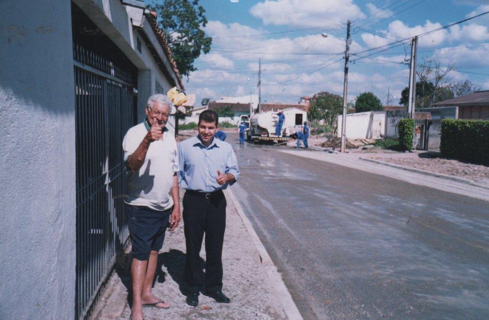 Rua Dante Melara, entre as ruas Sebastião Marcos Luiz e Liberato E. do Prado, V Camargo