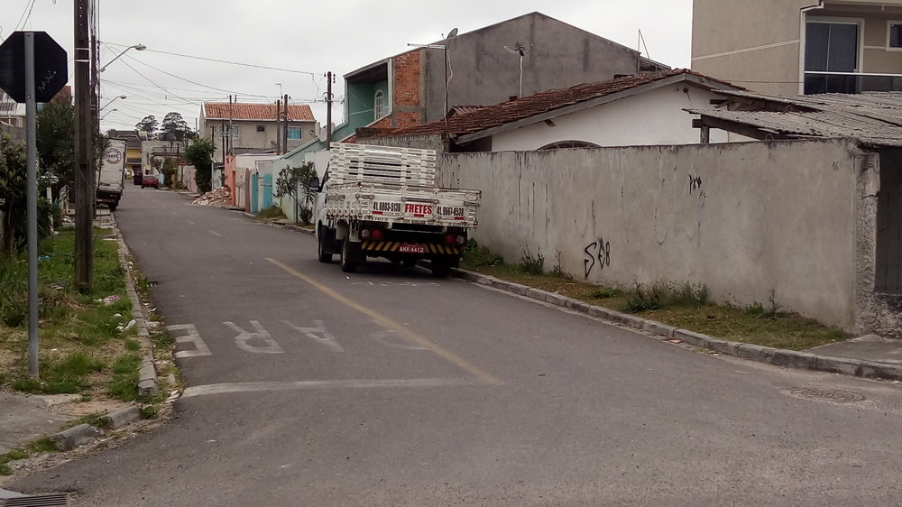Pavimentação na Rua Débora Eloisa Pereira - 2012