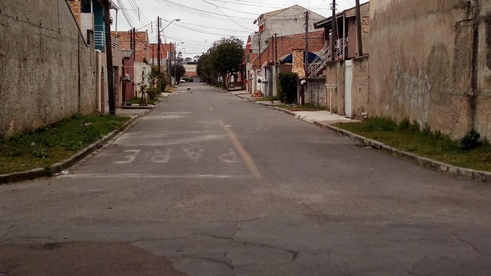 Pavimentação na Rua Teodoro Grischy - 2012