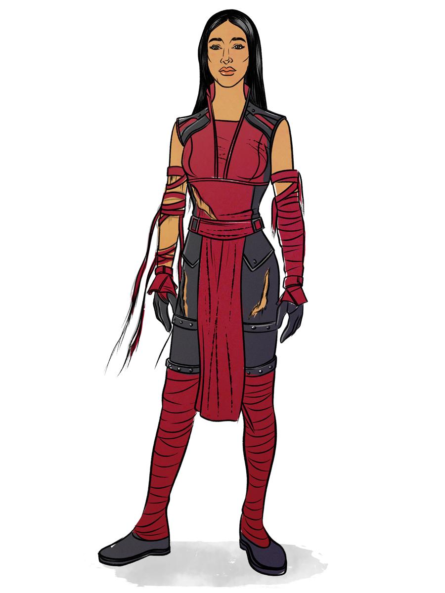elektra-costume-illustration