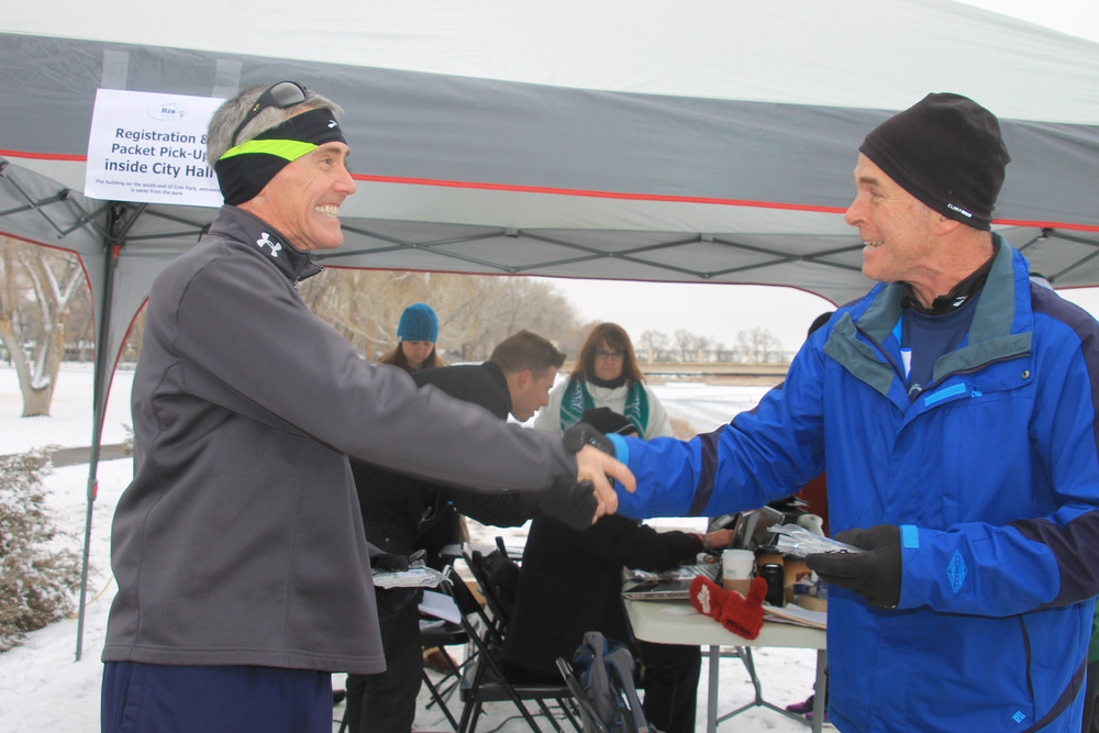 Men's 50-59 Age Group Winner - Tim Barry, Colorado Springs
