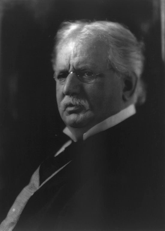 Theodore Newton Vail, 1845-1920, bust portrait, facing left, Circa 1913. Image source: Library of Congress Reproduction Number:  LC-USZ62-52121  (additional at  Wikimedia Commons ) by unknown author is licensed under  Public Domain Mark 1.0