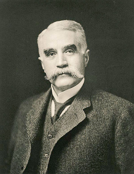 Charles Francis Brush, (March 17, 1849 – June 15, 1929) was a U.S. inventor, entrepreneur and philanthropist, circa 1920.  Image source: Charles F. Brush ca1920.jpg by unknown author is licensed under Public Domain Mark 1.0