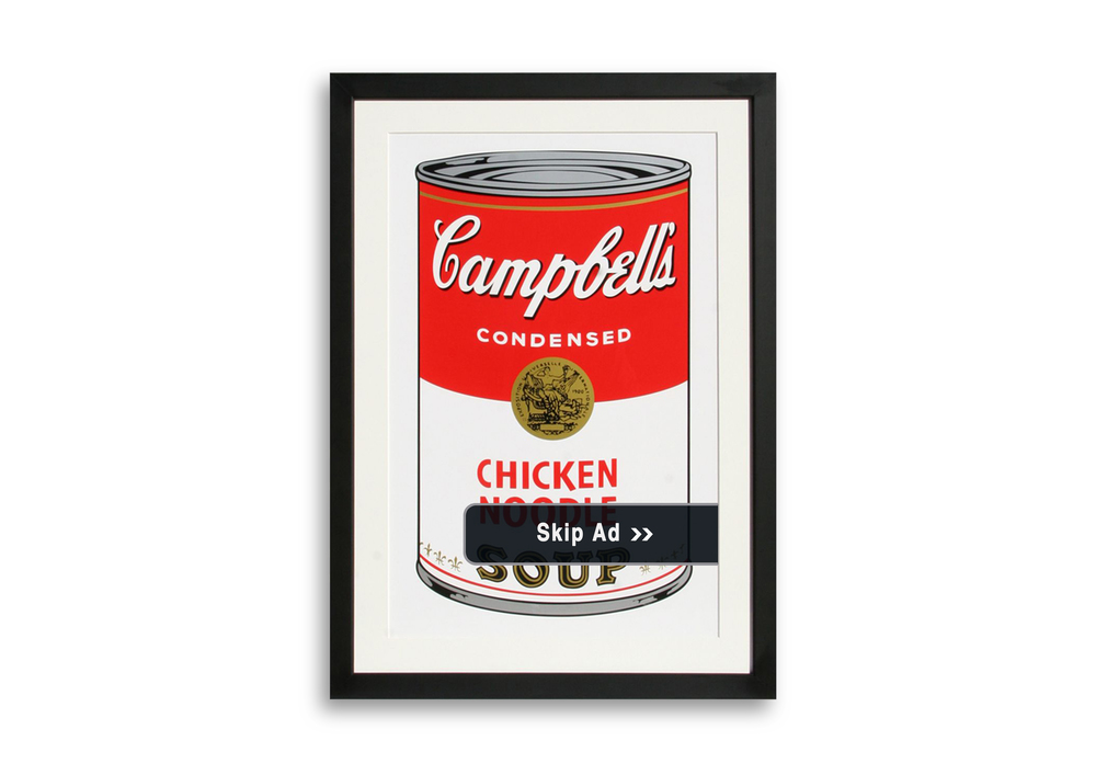 Warhol adverts